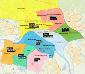 Contactpersoon per wijk