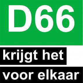 D66 krijgt het voor elkaar