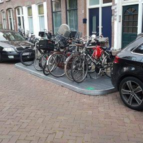 Fietsvlonder in Den Haag